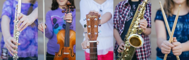 Instruments Collage